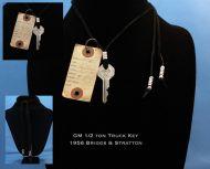 1956 GM 1/2 Ton Truck Key