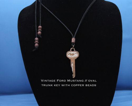 Vintage Ford Mustang Key - trunk / doors
