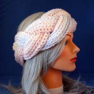 Cotton Candy Braided Earwarmer