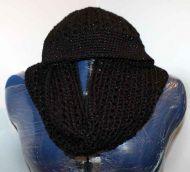 Infinity Scarf & Messy Bun Hat Set